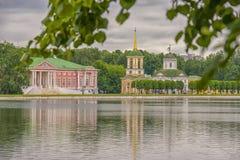 Landgoed Kuskovo Stock Fotografie