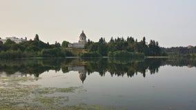 Landgoed op water Royalty-vrije Stock Foto