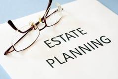 Landgoed planning stock foto's