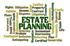 Landgoed Planning Royalty-vrije Stock Afbeelding