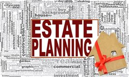 Landgoed Planningsword Wolk stock illustratie