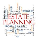Landgoed Planningsword Wolkenconcept royalty-vrije illustratie