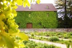 Landgoedhuis Stock Afbeelding