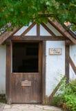Landgraaf, 6 de agosto de 2017 holandês: Imagem de uma casa de campo no jardim inglês do parque Mondo Verde Foto de Stock