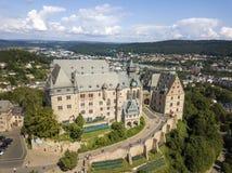 The Landgrafenschloss Marburg, Germany Stock Photography
