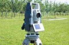 Landgranskningsutrustning Fotografering för Bildbyråer