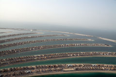 Landhäuser auf den Gabeln von einer Insel Stockfotografie