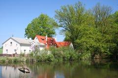 Landhaus Lizenzfreie Stockfotos