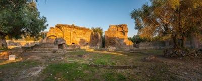 Landhaus Adriana nahe Rom, Italien Stockbild