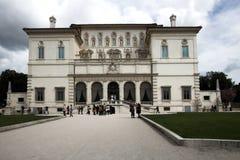 Landhaus Borghese, Galleria Borgh Stockbild
