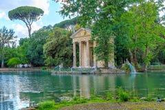 Landhaus Borghese in Rom lizenzfreie stockfotos