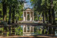 Landhaus Borghese Rom Lizenzfreie Stockfotos