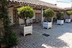 Landhaus in Chile lizenzfreies stockbild