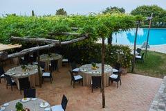 Landhaus Cimbrone in Küste Italien Ravello Amalfi Stockfoto