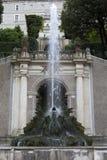 Landhaus d 'Este16th-century Brunnen und Garten, Tivoli, Italien Der meiste populäre Platz in Vietnam lizenzfreies stockfoto