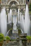 Landhaus d este im tivoli, Italien, Europa Lizenzfreies Stockfoto