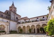 Landhaus d'este Park in Tivoli, Lazio, Italien Lizenzfreie Stockfotografie