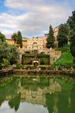 Landhaus d'Este, Tivoli, Italien Stockbilder