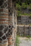 Landhaus dei misteri in Pompeji Lizenzfreies Stockfoto