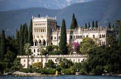 Landhaus in dem See Garda Lizenzfreies Stockfoto