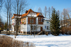 Landhaus errichtet für Dr. Rozycki im Jahre 1913 in Zakopane Lizenzfreie Stockfotos