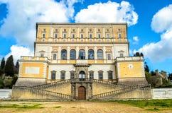 Landhaus Farnese Caprarola Lazio Viterbo Italien Lizenzfreies Stockfoto