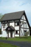 Landhaus für Freizeit Stockfoto