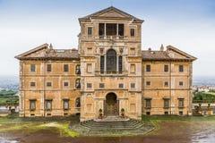 Landhaus in Frascati, Castelli Romani, Italien Stockbild