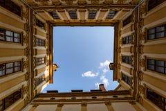 Landhaus in Graz, Austria. Tourist spot sky Stock Image