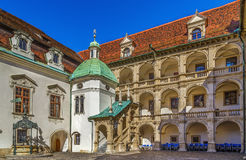 Landhaus in Graz, Austria. View of Landhaus from courtyard, Graz, Austria Stock Image