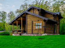 Landhaus, Häuschen, Ferienhaus Stockbilder