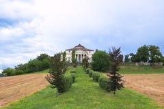 Landhaus-La Rotonda lizenzfreies stockfoto