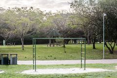 Landhaus-Lobos-Park in San Paulo Sao Paulo, Brasilien Brasilien stockbild