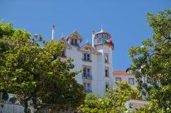 Landhaus Nogueiras in Sintra Stockbilder