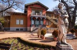 Landhaus Rivoltella, Triest Stockfoto