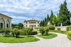Landhaus Valmarana ai Nani, Vicenza, Italien Stockfoto