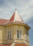 Landhaus Victoria Exterior im März Del Plata Lizenzfreies Stockbild