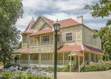 Landhaus Victoria Exterior im März Del Plata Lizenzfreie Stockfotos