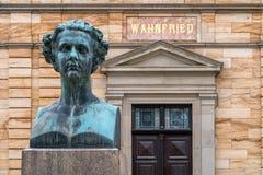 Landhaus Wahnfried Bayreuth 2016 - König von Bayern Ludwig II Stockbilder