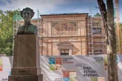 Landhaus Wahnfried Bayreuth - Richard Wagner Museum lizenzfreie stockbilder