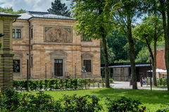 Landhaus Wahnfried Bayreuth - Richard Wagner Museum Lizenzfreie Stockfotos