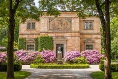 Landhaus Wahnfried/Richard Wagner - Bayreuth Stockfotos