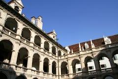 Landhaushof en Graz imagenes de archivo
