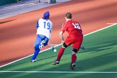 landhockey Royaltyfri Foto