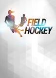 Landhockeybakgrund vektor illustrationer