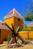Landhouse在库拉索岛 库存照片