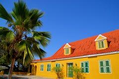 Landhouse в Curacao Стоковое Изображение