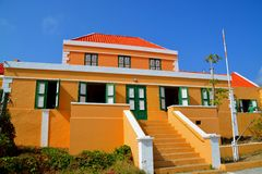 Landhouse in Curacao Stock Photos