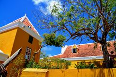 Landhouse in Curacao Royalty Free Stock Image