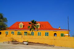 Landhouse in Curacao Stock Photo